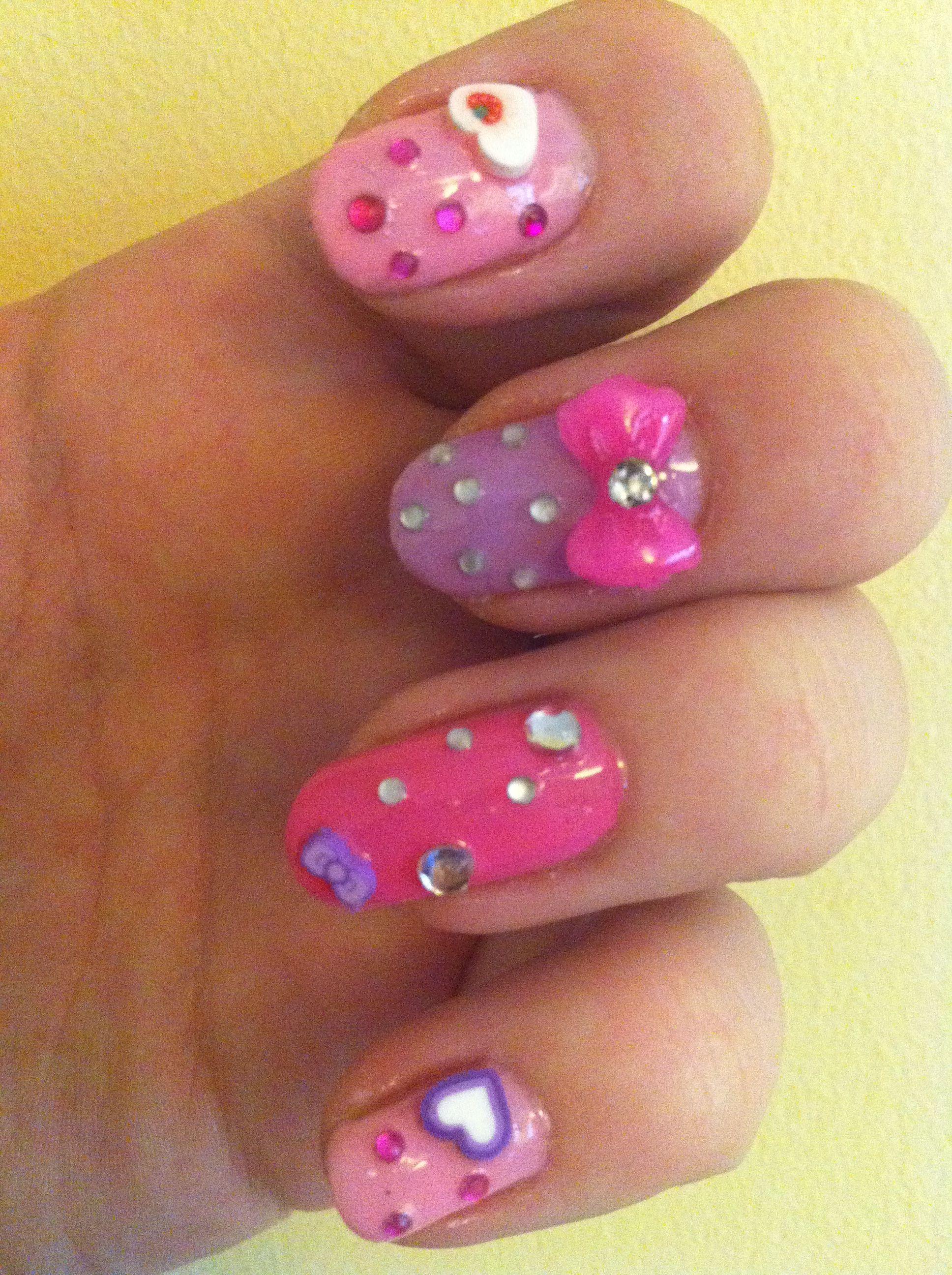 Pastel Nail Art Pretty Nails 3 Pinterest Pastel Nails And