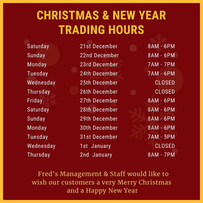 Christmas & New Year Trading Hours | Very merry christmas ...