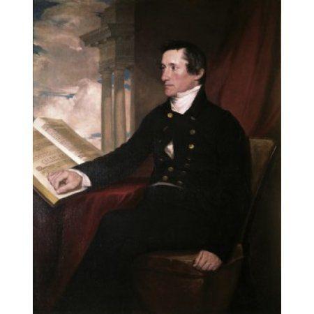Colonel William Drayton Samuel Finley Breese Morse (1791-1872 American) Canvas Art - Samuel Finley Breese (18 x 24)