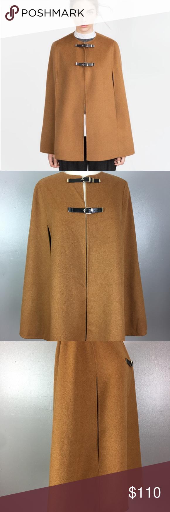 Zara poncho jacket