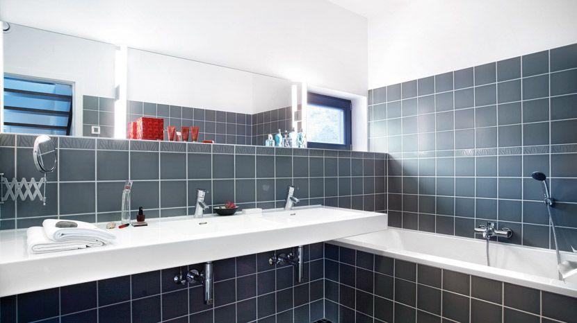 Bäder, Familienbad, Wellness Oase, Dusch WC   SchwörerHaus   Haus deko, Wc mit dusche, Bad