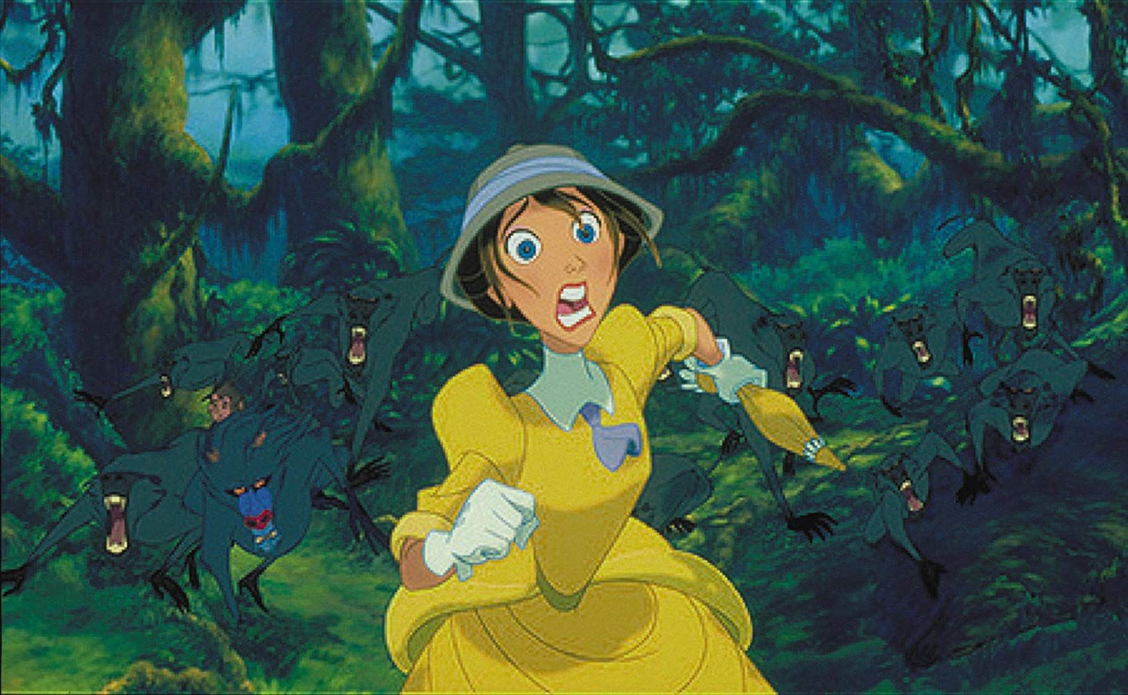 Minnie Driver in Tarzan (1999) (With images) Tarzan