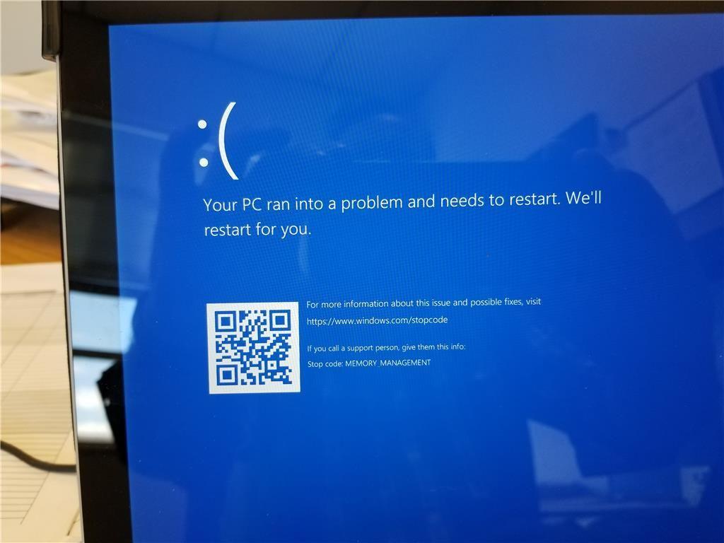 How To Fix Windows 10 Memory Management Error Stop code