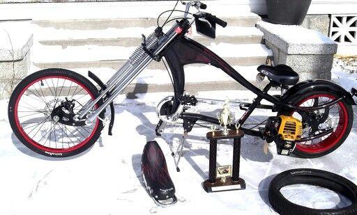 Bicicleta Customchopper Bicycle Motorised Bike Bike Bicycle
