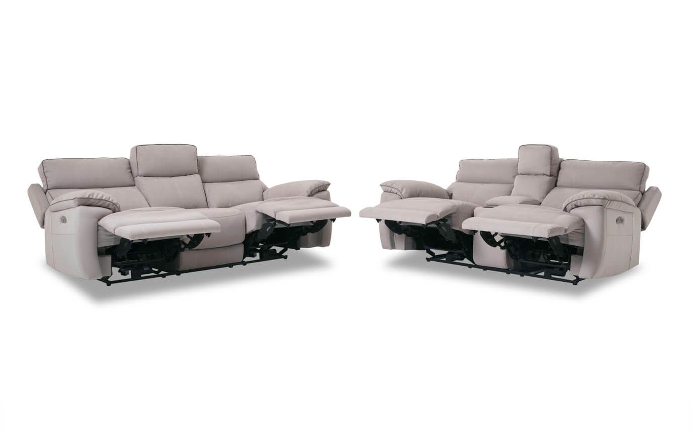 Wondrous Jetson Power Reclining Sofa Console Loveseat Homes Beatyapartments Chair Design Images Beatyapartmentscom