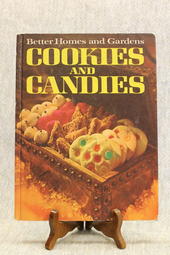Better homes gardens cookies and candies cookbook recipe - Vintage better homes and gardens cookbook ...