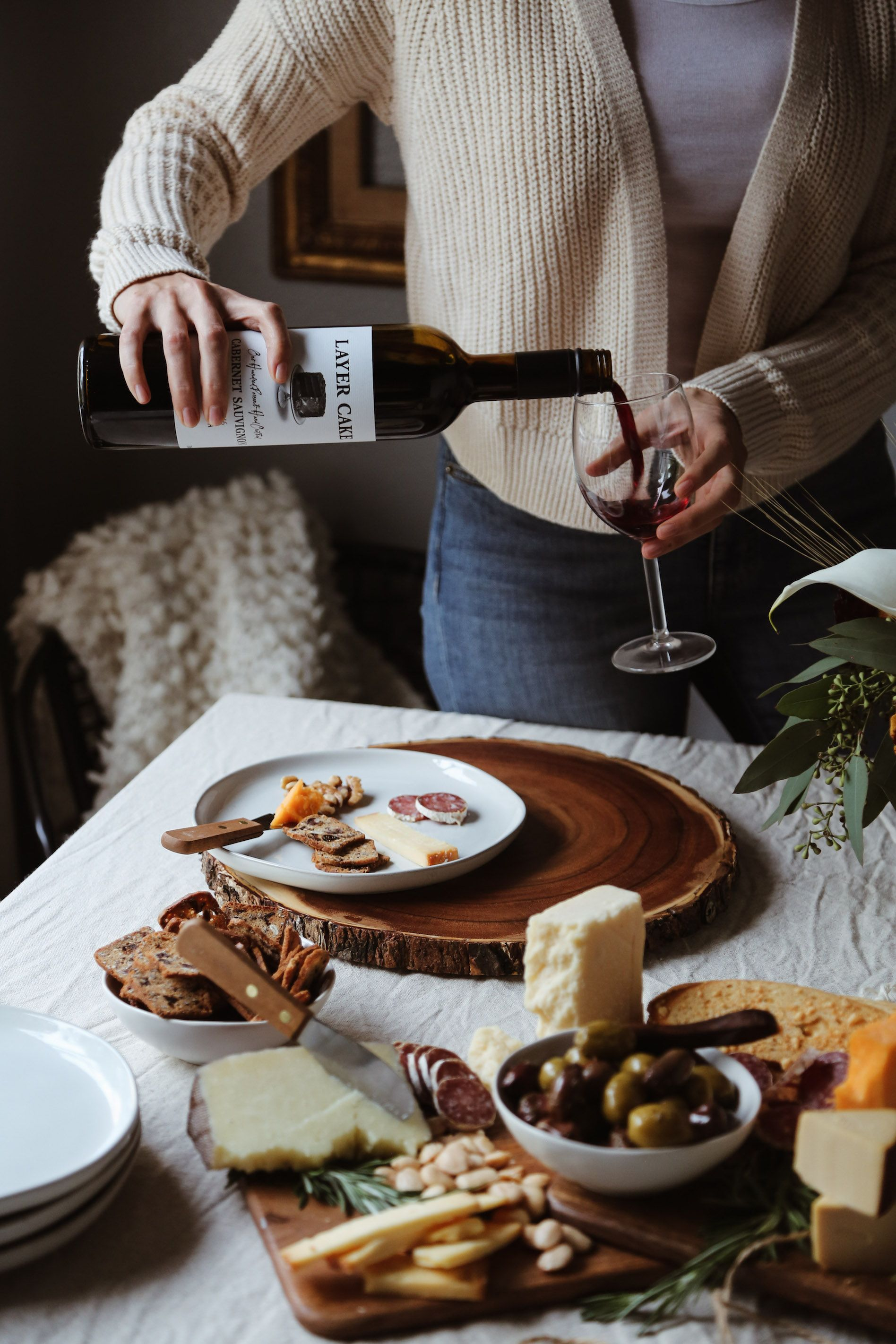 A fall wine cheese tasting party alyssa ponticello