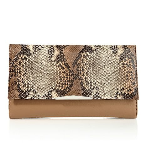 Danielle Nicole Austin Snake Embossed Clutch At Hsn