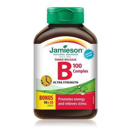 Jamieson Laboratories Jamieson B Complex Timed Release