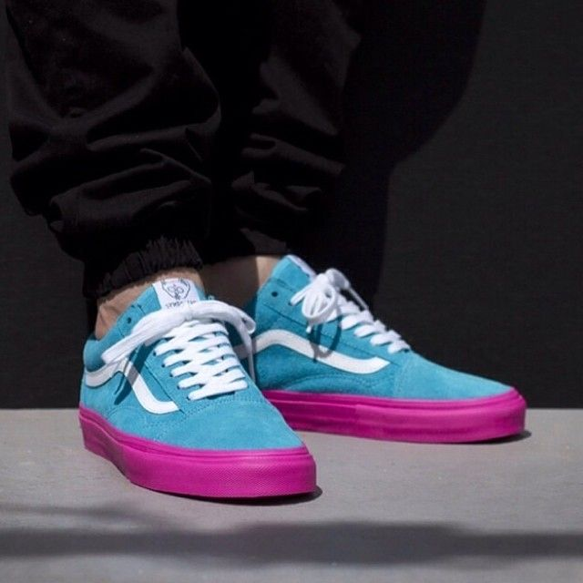 8b9301ba90 1 out of 3 colourways of the Vans Syndicate x Golf Wang Collab! What do