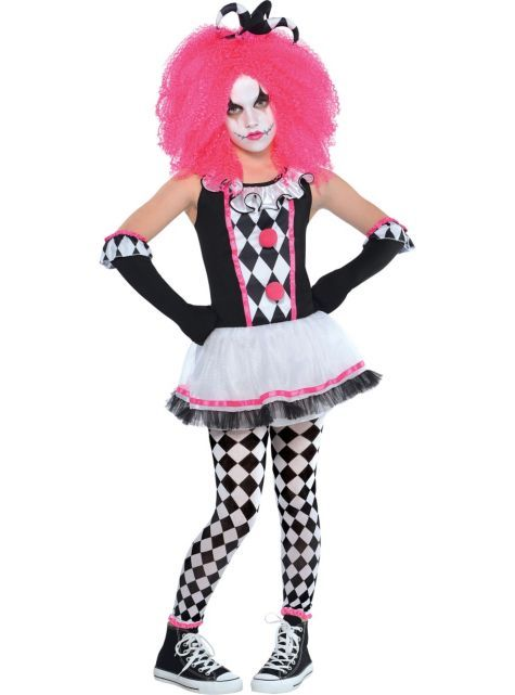 Girls Circus Sweetie Clown Costume , Party City , minus the