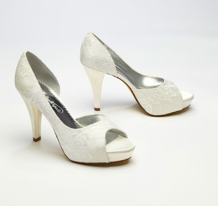 f250b1ae9583 Everything you need to know about buying the perfect wedding shoe to  complement your dress.