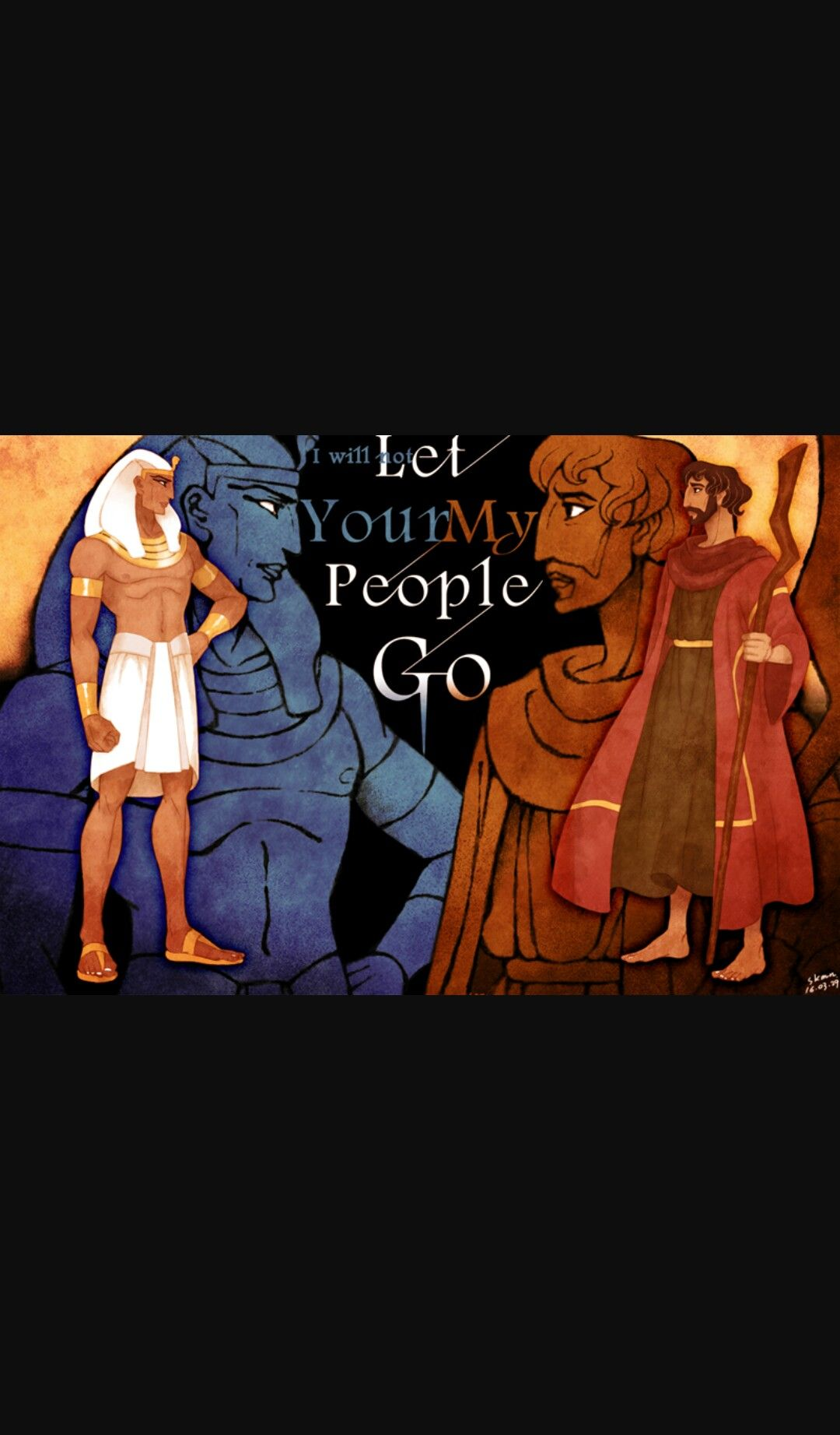 ramses and Moses the prince of Egypt | Egyptians & Hebrews