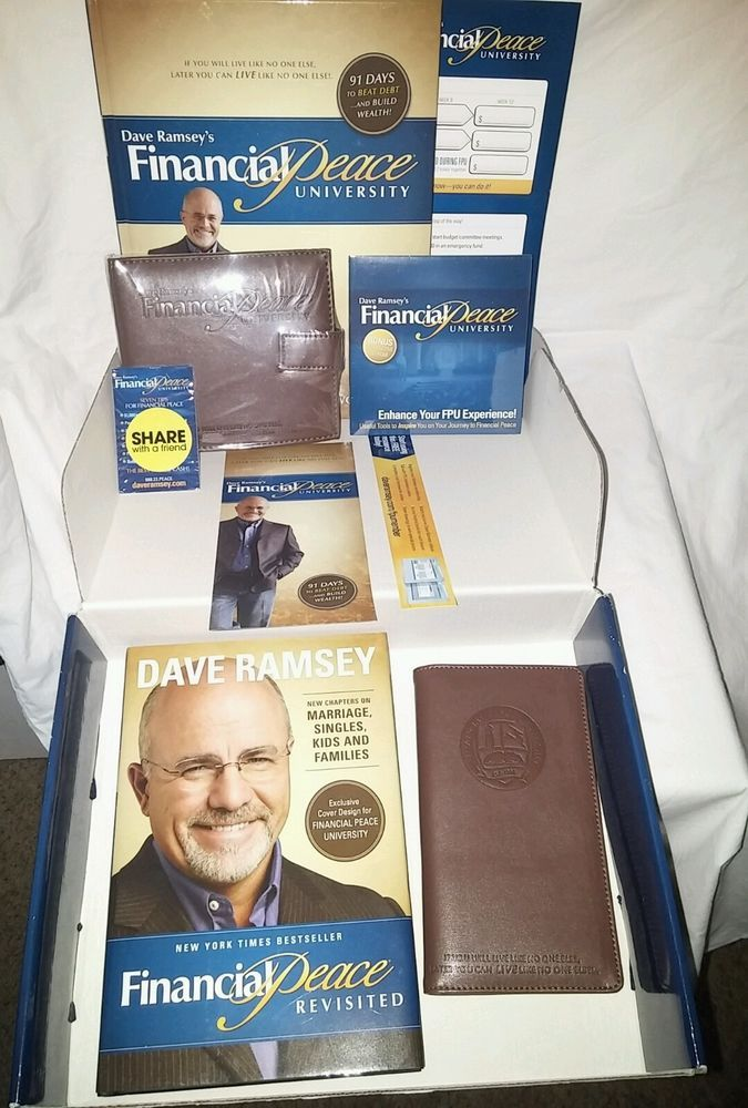 Dave Ramsey's Financial Peace University Membership Kit Box FREE SHIPPING