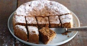 Cake de Nueces para Pesah - Recetas Judias