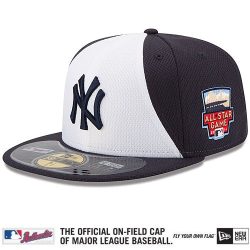 wholesale dealer ae6ce de1c3 New York Yankees Authentic Collection All-Star Game Diamond Era On-Field  59FIFTY Cap with 2014 All-Star Patch - MLB.com Shop