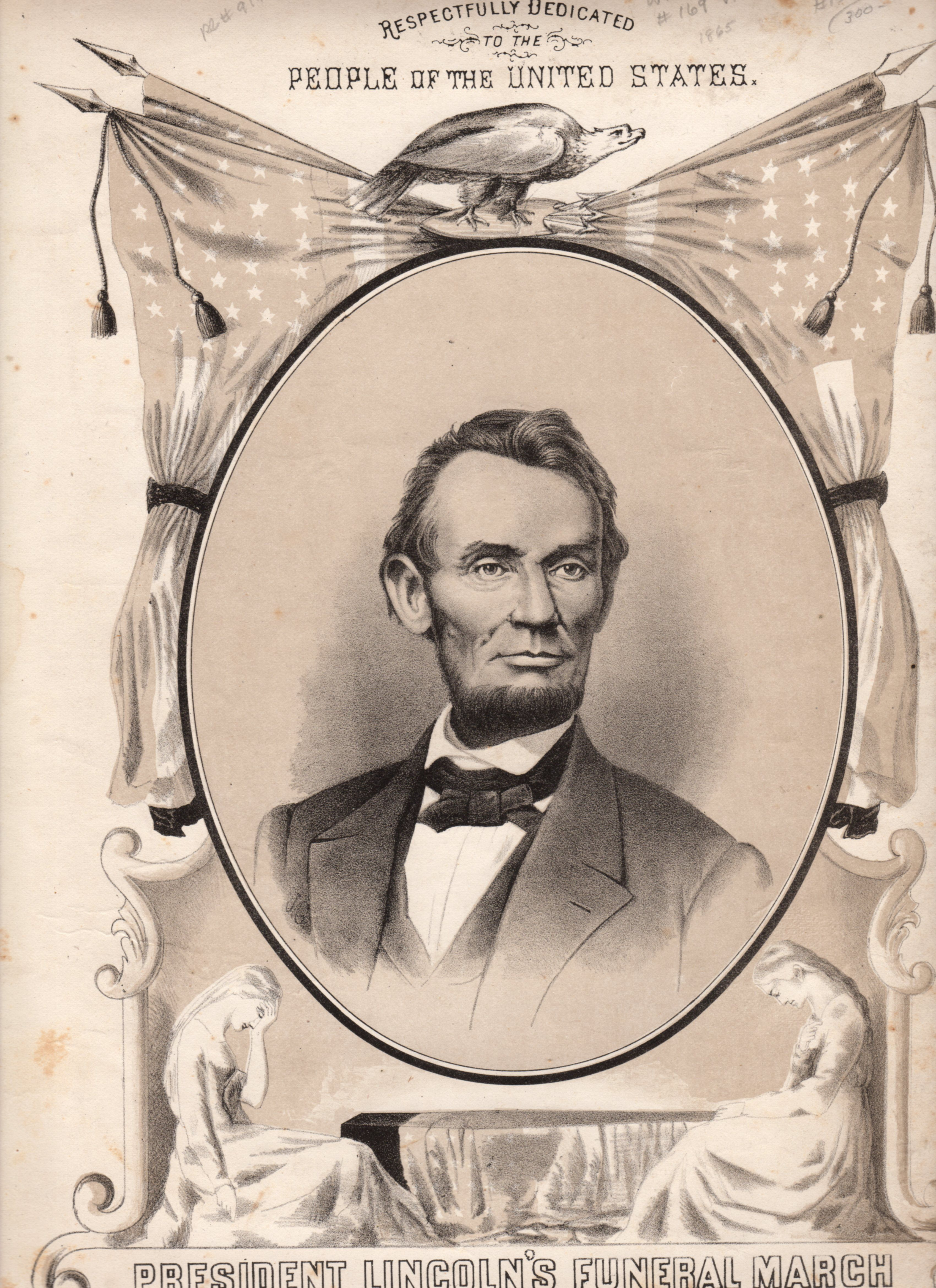 Lincoln s funeral march our beloved president was assassinated on april 14 1865 we are