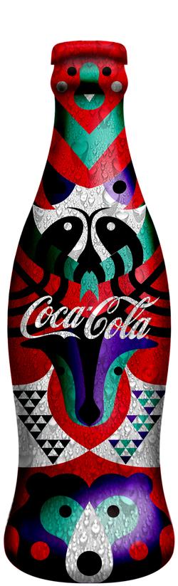 Coca-cola / Animal & Nature by Rachael Yang, via Behance