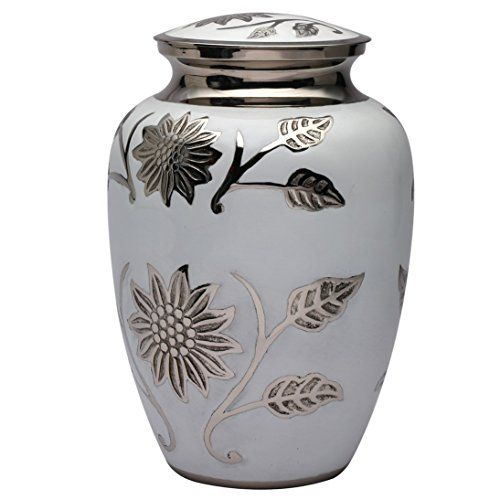 Decorative Large Urns Alluring Big White Color Hastings Adult Memorail Urn For Human Ashes Large 2018