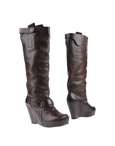 A men's wedge boot From Rick Owens