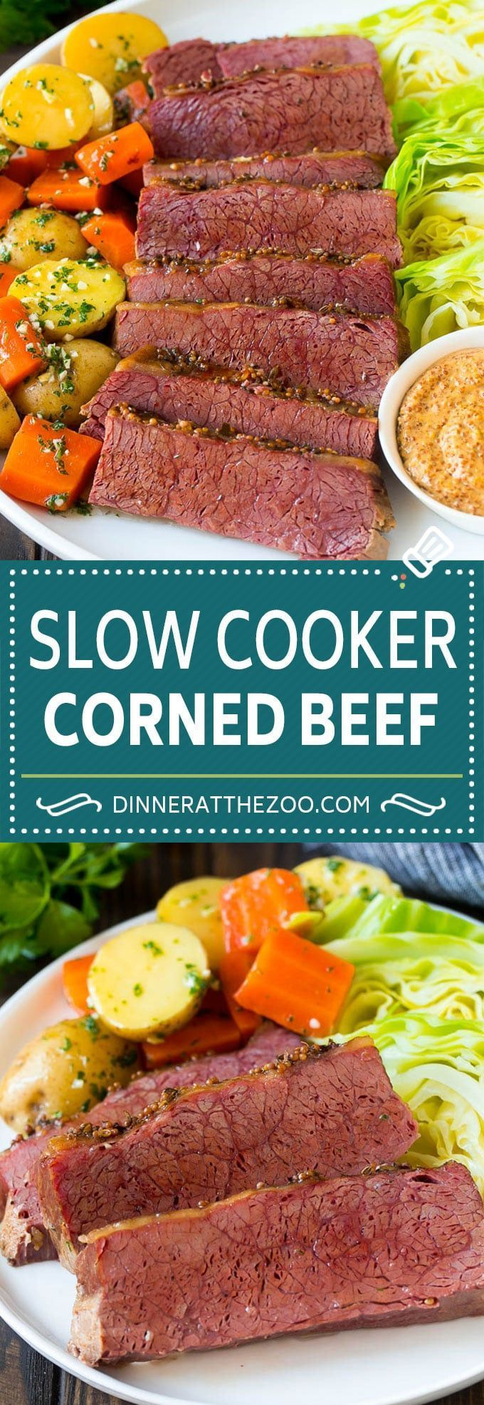 Slow Cooker Corned Beef Recipe Crock Pot Corned Beef Corned Beef And Cabbage Bee Slow Cooker Corned Beef Corned Beef Recipes Corned Beef Recipes Crock Pot