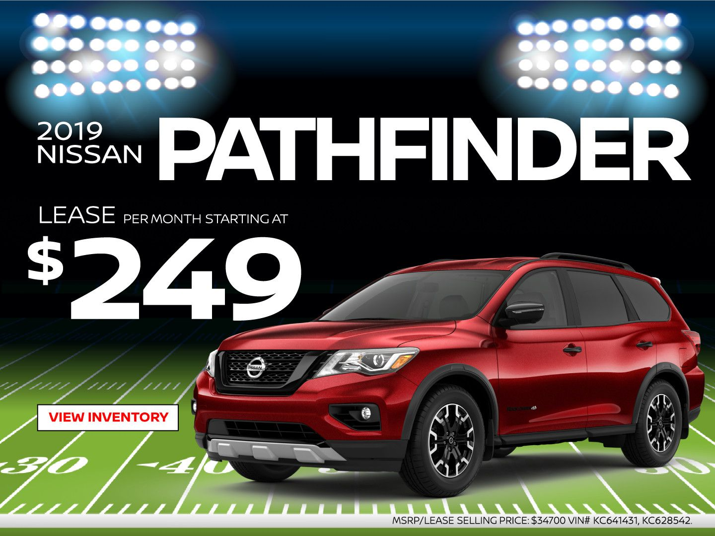2019 Nissan Pathfinder Lease Special Nissan Pathfinder Nissan Lease Specials