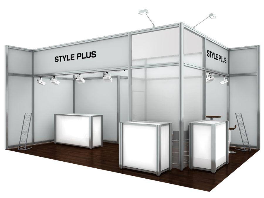 Exhibition Stall On Rent : Schlessmann messebau rent booths at trade fair booth rental