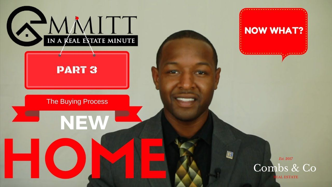 Emmitt Real Estate Minute | Buying process, Home buying