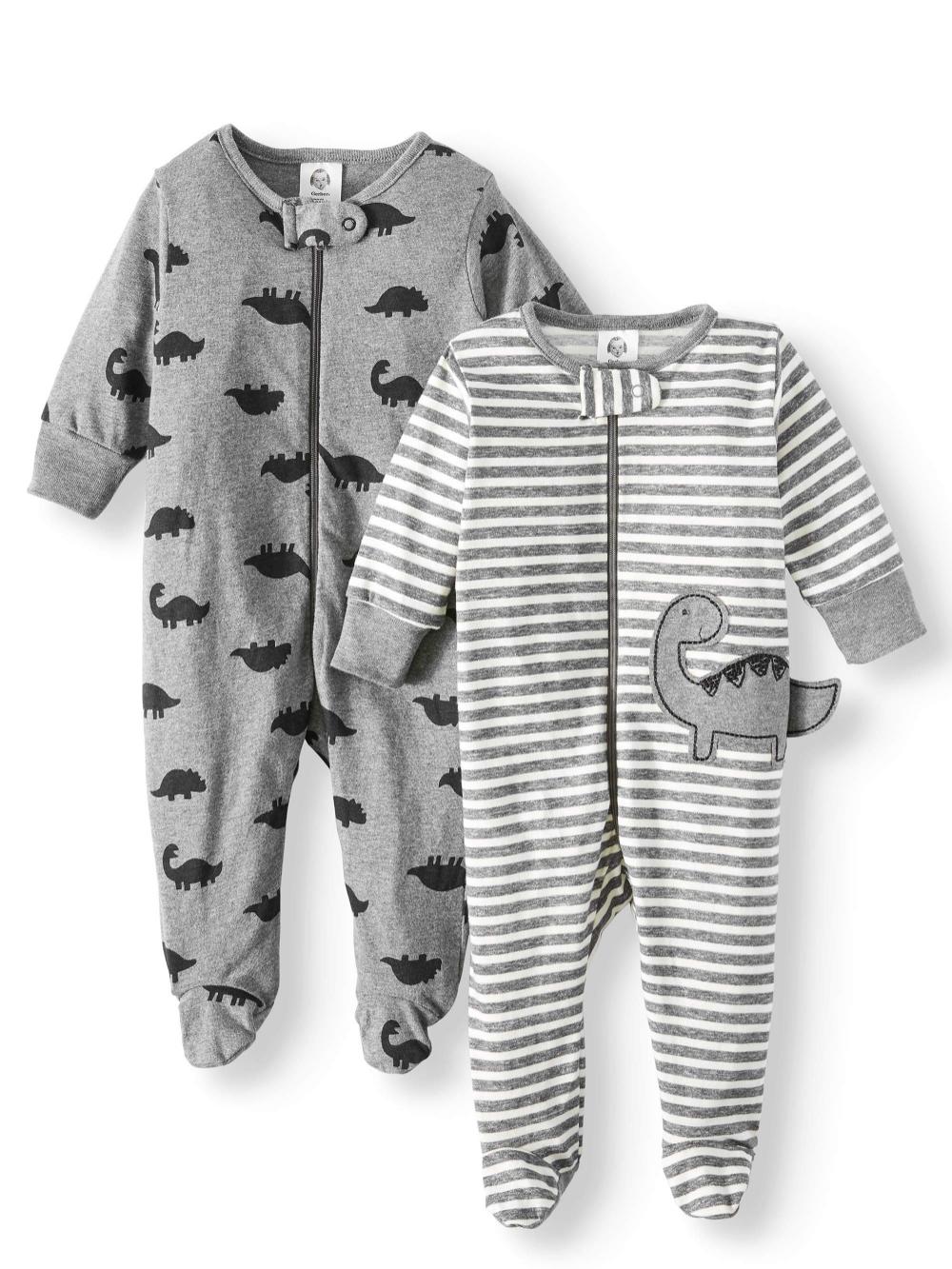 Gerber Boys 2-Pack Firetrucks Sleeps /'n Plays Set Size 3-6M BABY CLOTHES GIFT