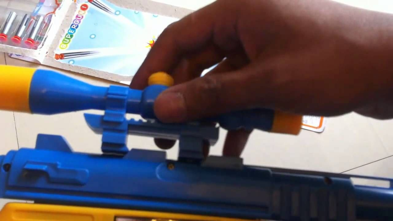 Unboxing Airsoft Gun Sniper Toys For Children by JeannetChannel