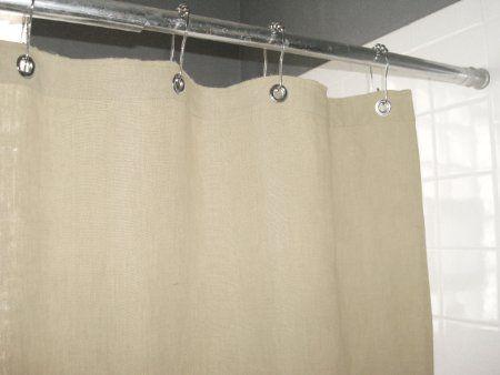 Amazon Com Organic Hemp Shower Curtain 72 X 72 Nat