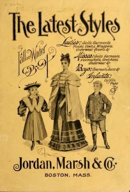 The 1893 latest styles : Fall and Winter 93-94,