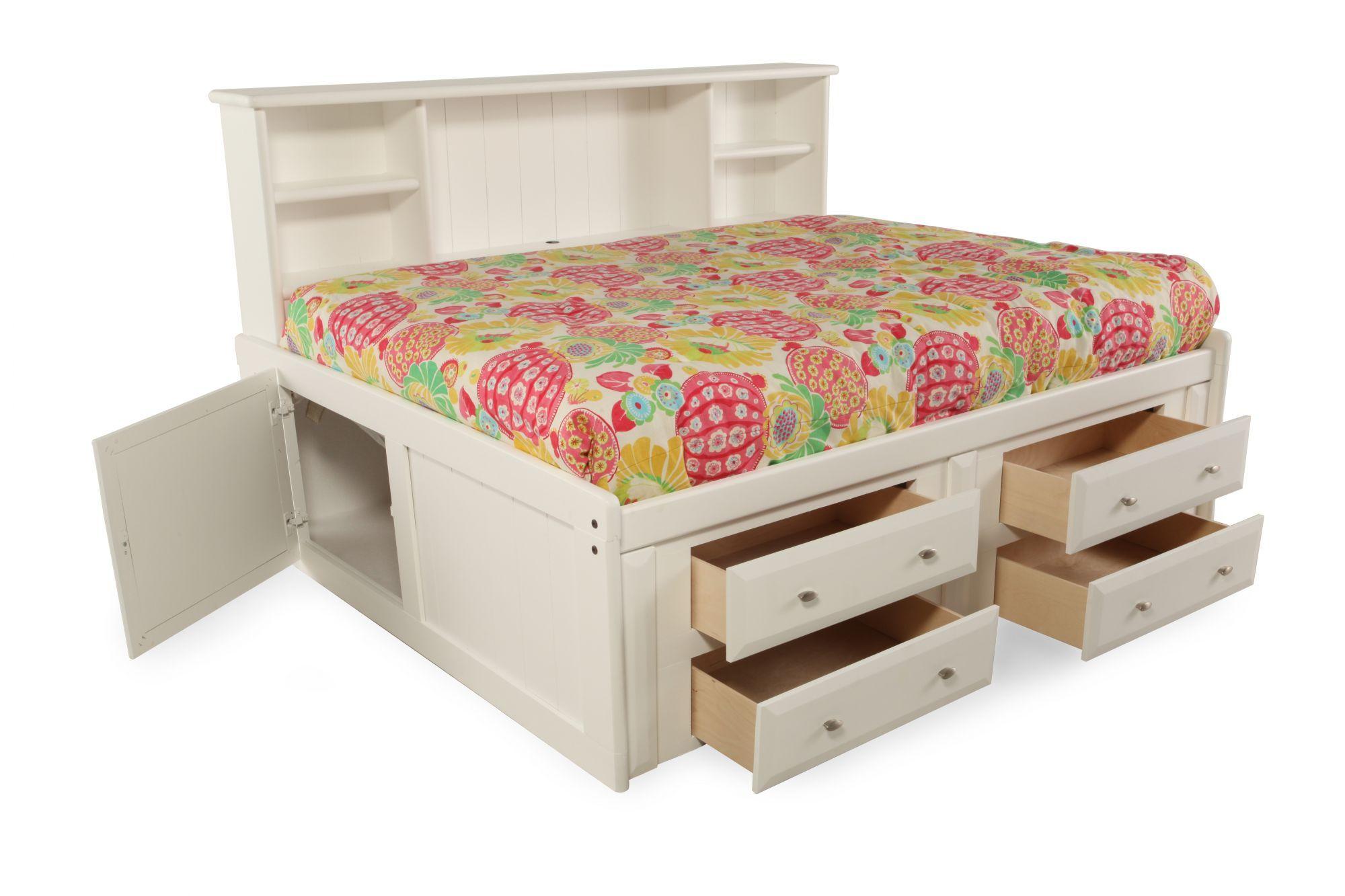 Trendwood Laguna White Full Bed Mathis Brothers