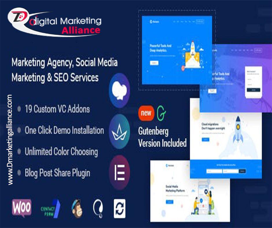 Marketing Agency Social Media Marketing Seo Services Seo