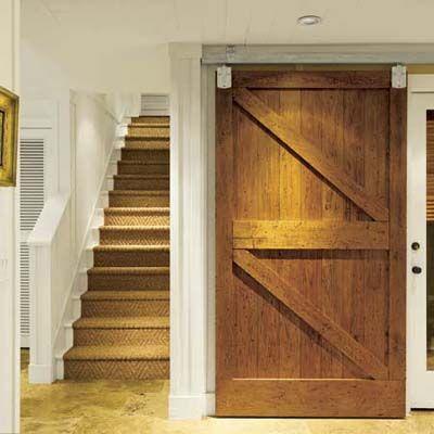 Old Sliding Barn Doors basement bonus rooms | barn doors and barn