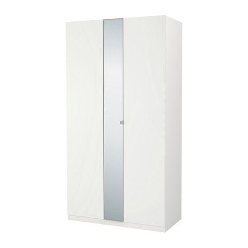 PAX Kleiderschrank, weiß, Ballstad Vikedal Ikea pax wardrobe - schlafzimmerschrank weis