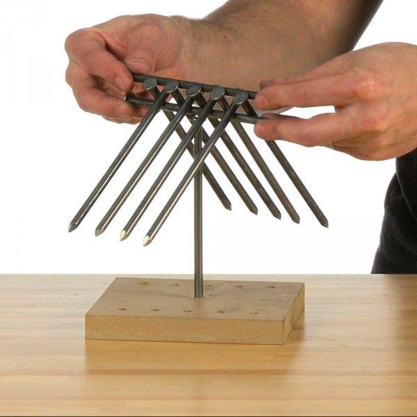 Balancing Nail Puzzle Steve Spangler Science