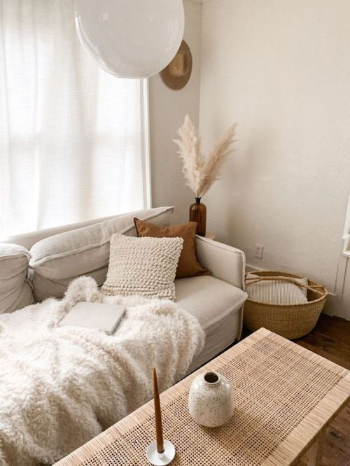 #homedecor – A mix of mid-century modern, bohemian, and industrial interior style. Home and apartment decor, decoration ideas, home design, bedroom, living room, dining room, kitchen, bathroom, office