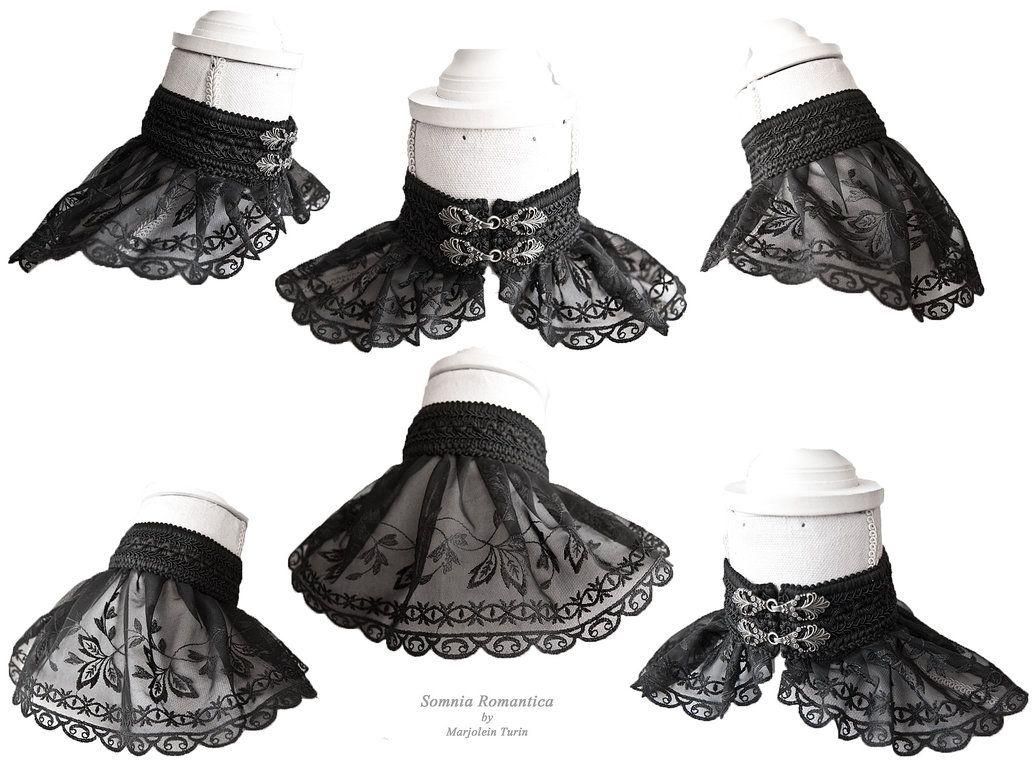 Black lace collarsomnia romantica by m turin by somniaromantica