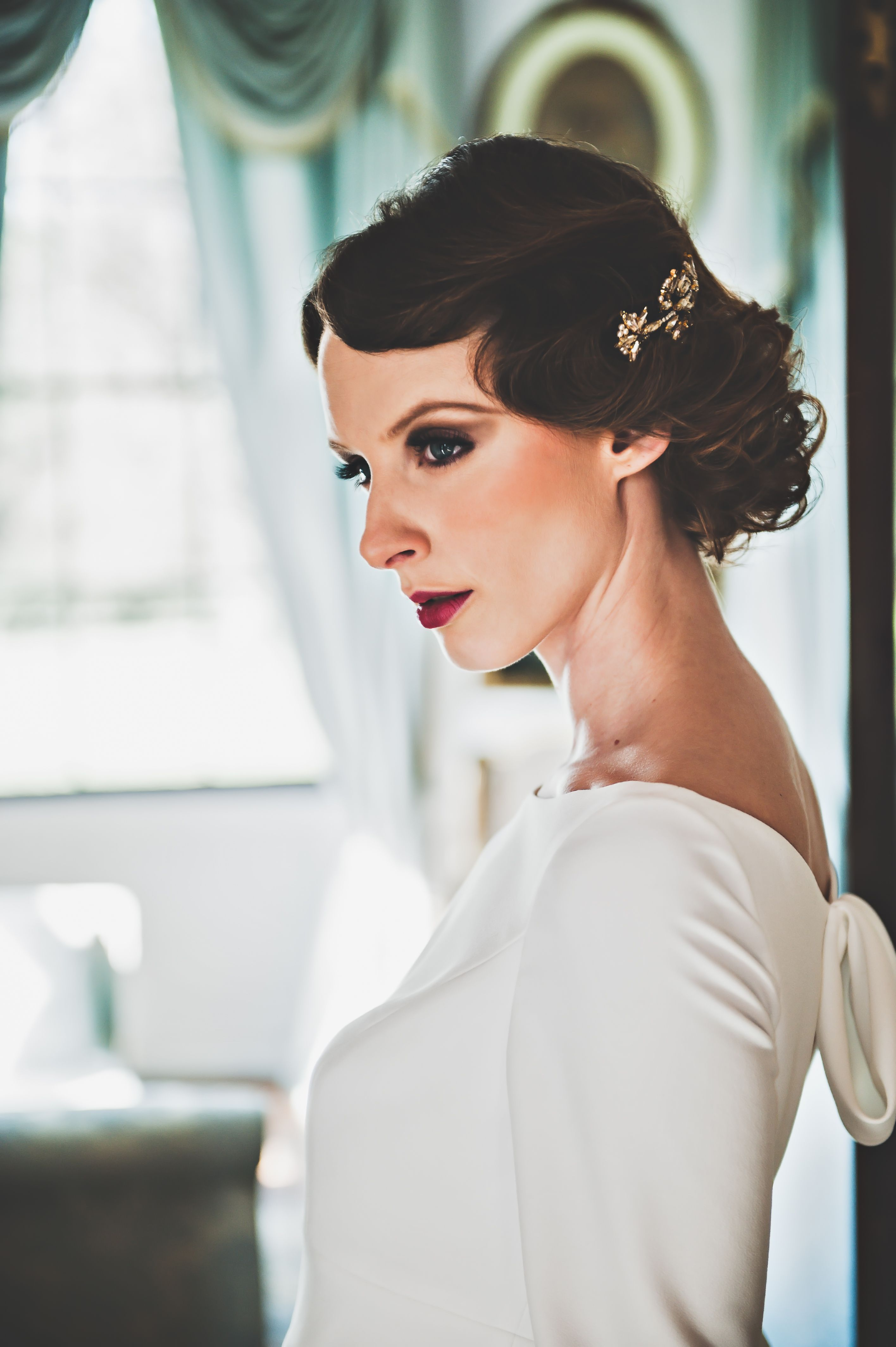 1930\'s bride makeup design by me - Image ikonworks | Editorial ...
