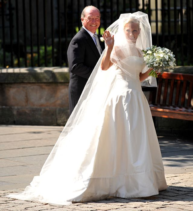 Zara Phillips Wedding Dress To Go On Display With Other