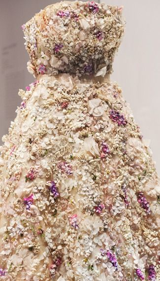 On Display at the Miss Dior Exhibition at Grand Palais, Paris, France, November 2013 to 25 November 2013.