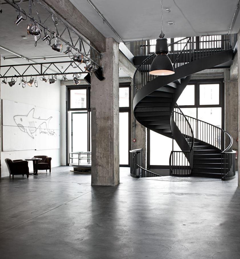 Industrial Interiordesign Bathroom: Soho House, Berlin - Picture Gallery