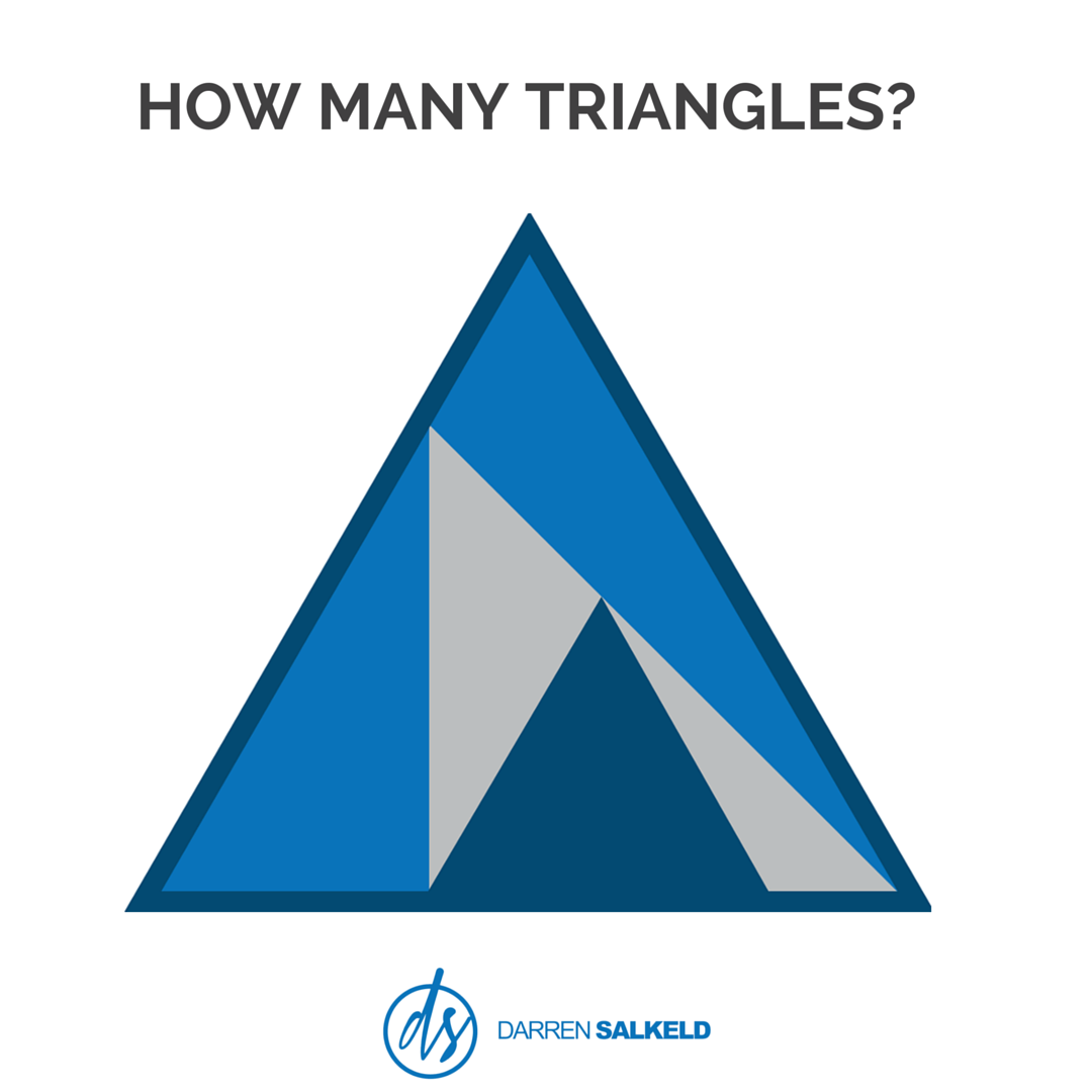 How Many Triangles Do You See Brainteaser