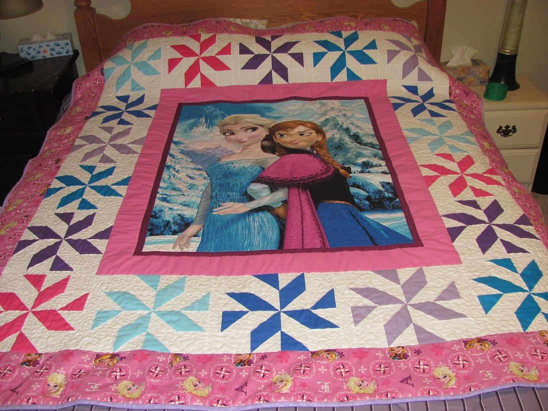 Sweet Mermaid Sister Pink ~ Quilt Block Multi Sizes FrEE ShiPPinG WoRld WiDE