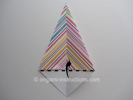 Photo of Origami Modular Spiky Crown Schritt 3