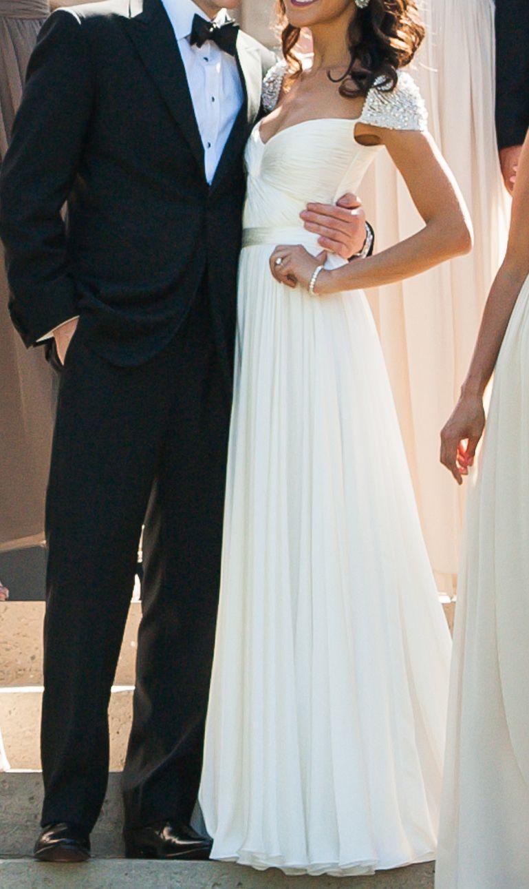 Reem Acra Olivia Wilde Wedding Dress Used Size 6 2 199 In