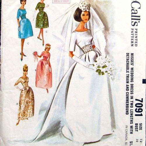 60 robe de mariée et de demoiselle d\'honneur robe Patron de couture ...