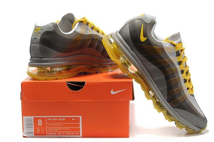 Nike Air Max 95 BB Men\u0027s Running Shoe Cool Grey/Dark Grey-Varsit