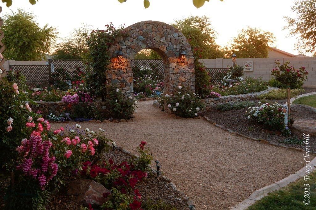 Rose Garden Surprise Az in 2020 Garden angels, Rose